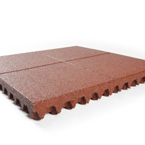 Playground safety tiles 100mm