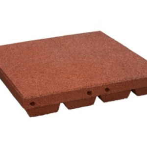 Playground Rubber Tile 80mm