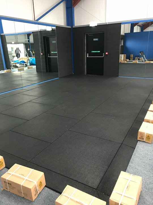 Our sister company Fitness Equipment NI installing a new rubber dumbbell area in Body Performance Gym in Dungannon.New 4…